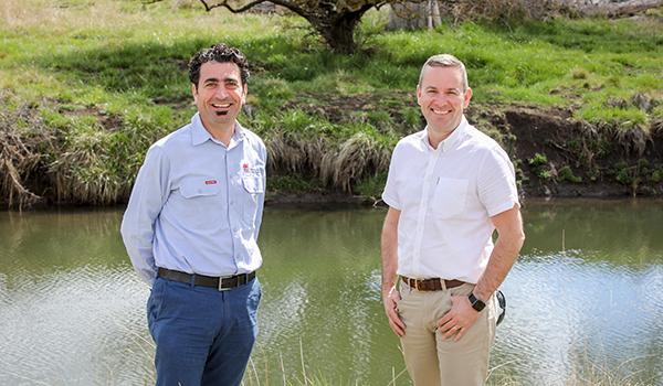 Greg Abood and Grant Barnes, NRAR