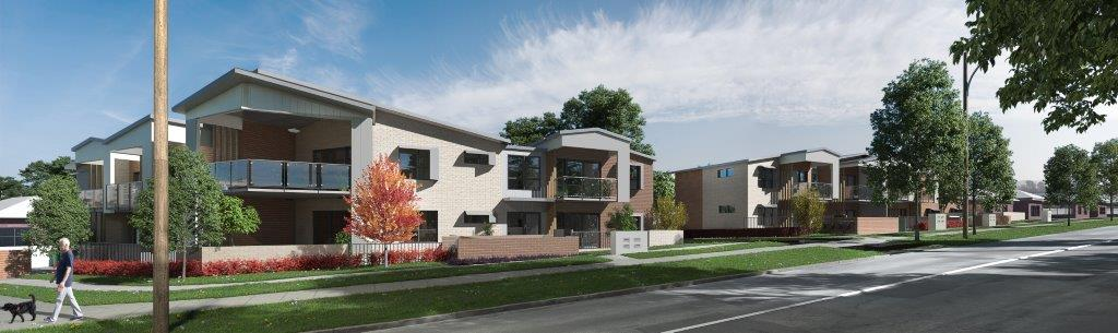 Artist impression Mary and Hume Streets development in Goulburn