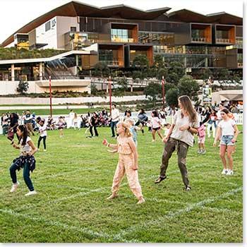 AfroFusion Class, Sydney Square Dance