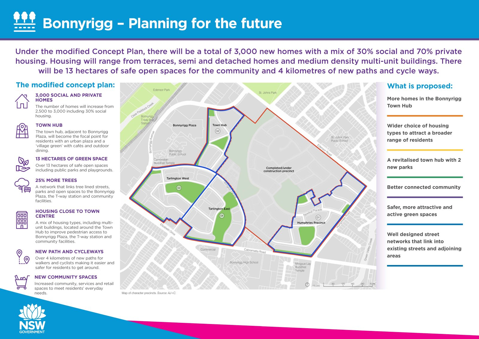 Bonnyrigg Planning for the Future infographic