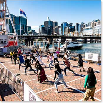 Reggaeton Class, Sydney Square Dance