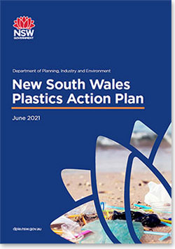 NSW Plastics Action Plan cover page